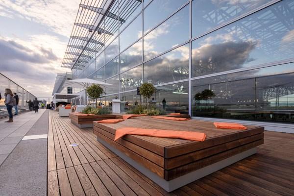 Besucherterrasse als Veranstaltungs-Location (Foto: Fraport)