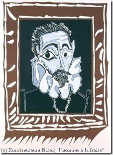 Picasso, L'Homme à la fraise, 1963_online