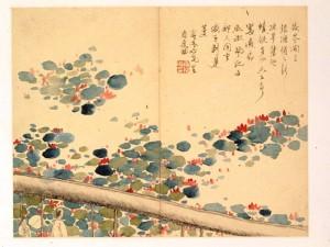 Luo Ping (1733–1799) Am Lotosteich Undatiert Aus 'Landschaften, Blumen und Pflanzen' Album mit 10 Blättern, Tusche und Farben auf Papier, 24,2 x 31,6 cm Museum Shanghai