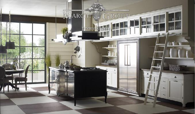 Old World Italian Kitchen Design  Straight from Hollywood  europeankitchendesigncom