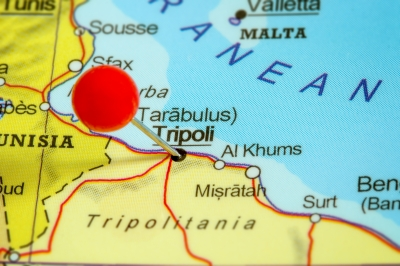 Landkarte Libyen Mittelmeer 2021: Zehn Konflikte