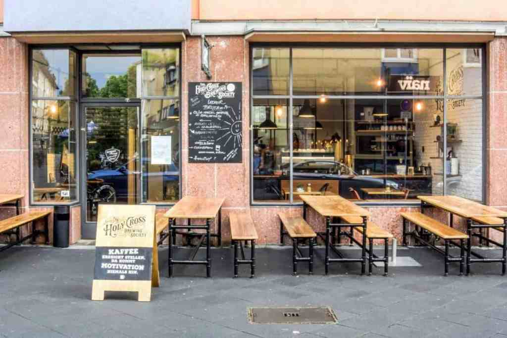 The Holy Cross Brewing Society - Frankfurt coffee
