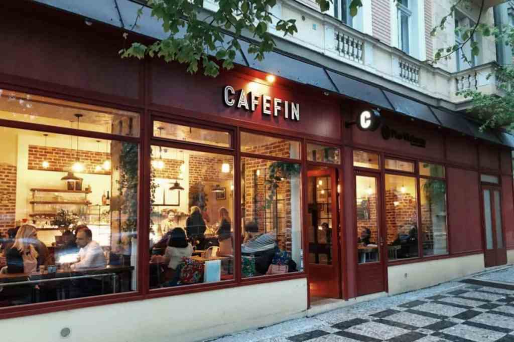 Cafefin outside
