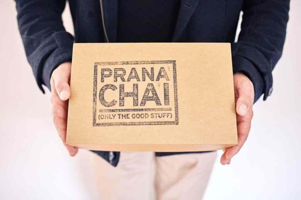 Prana Chai box