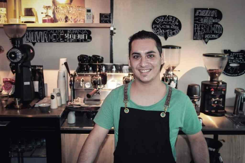 Paul Ungureanu of bob coffee lab