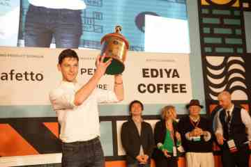Dale Harris, the World Barista Champion 2017