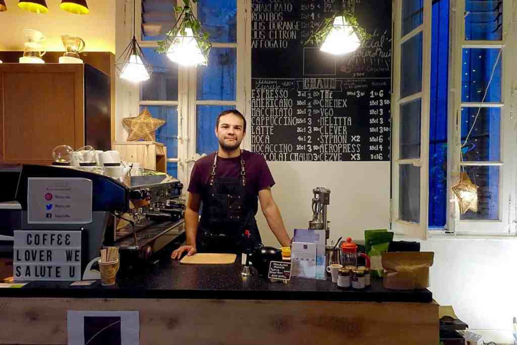 La Finnca's coffee bar, Toulouse