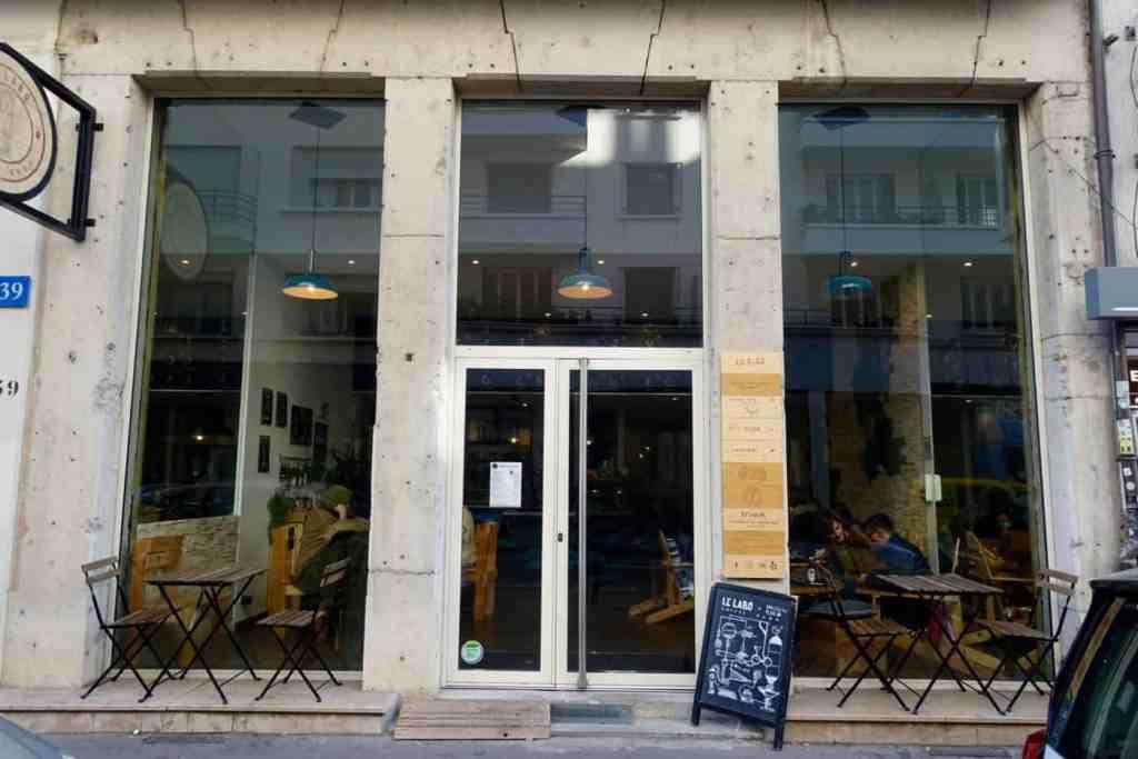 Outside Le Labo, Lyon