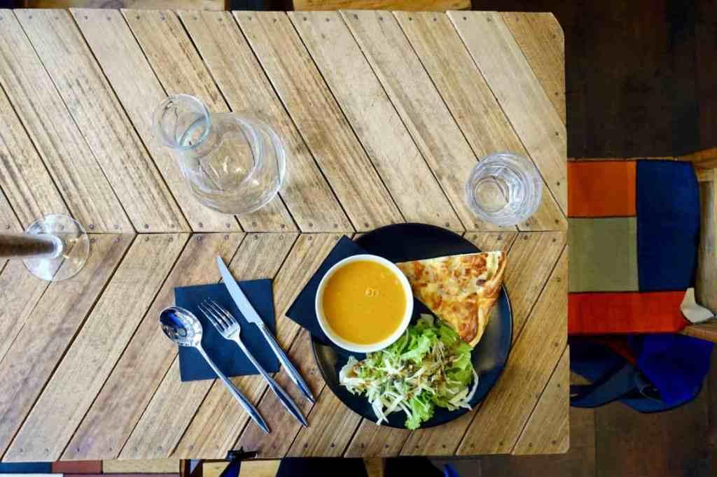 Lunch at Le Labo, Lyon
