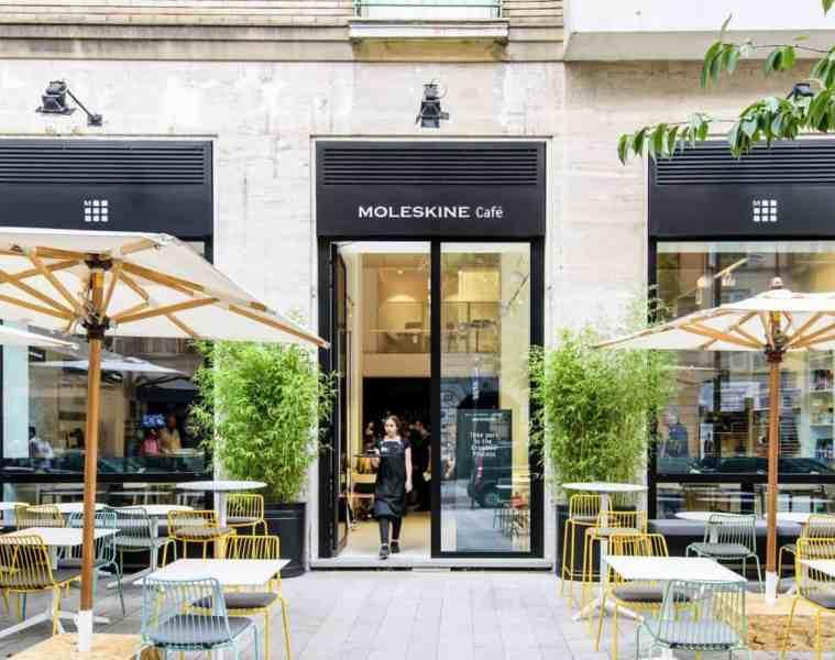 Moleskine cafe, Milan