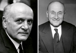 Altiero Spinelli and Jean Monnet, Fathers of Europe