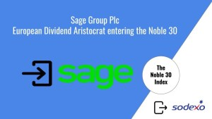 Read more about the article Sage Group Plc – European Dividend Aristocrat entering the Noble 30