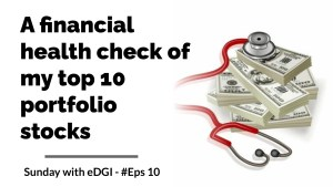 Read more about the article Financial Health analysis of my top 10 holdings | Is my portfolio safe?