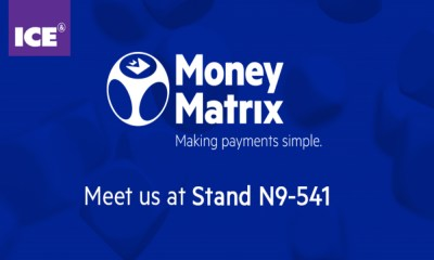 MoneyMatrix will be exhibiting at ICE TotallyGaming 2018