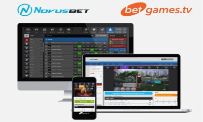 BetGames.tv continues its expansion in Africa signing Novusbet online and retail betting platform