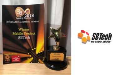 Further industry recognition as SBTech bags brace of awards and Ian Bradley included in GI Hot50