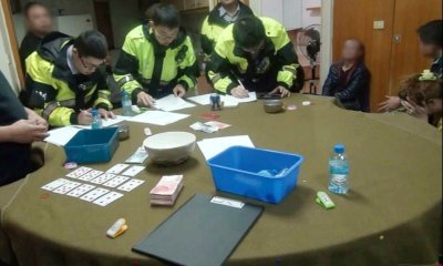 Police crack down on illegal gambling ahead of holiday