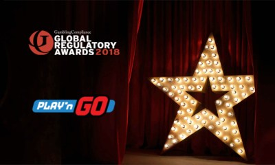 Play'n GO in running for three Global Regulatory Awards
