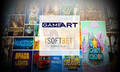 GameArt and iSoftBet Content Deal Now Live