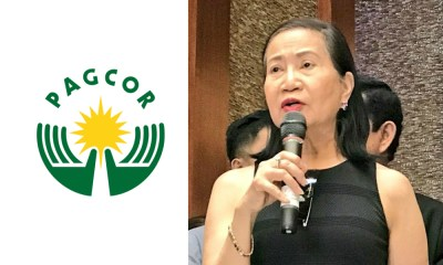 PAGCOR chief Andrea Domingo denies being fired