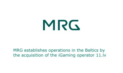 MRG establishes operations in the Baltics by the acquisition of the iGaming operator 11.lv