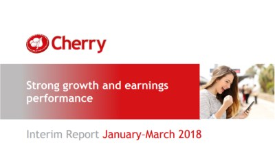 Cherry Interim Report January–March 2018