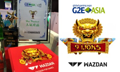 G2E Asia 2018 success for Wazdan