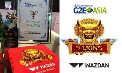 G2E Asia 2018 success for Wazdan