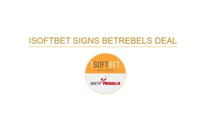 iSoftBet partners BetRebels
