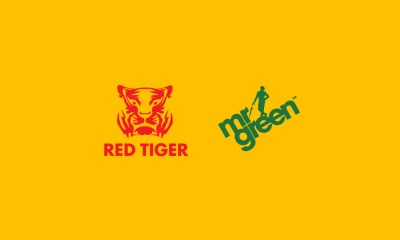 RED TIGER GAMING GO LIVE ON MR GREEN