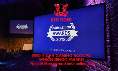 Red Tiger Gaming Scoops Which Bingo Award