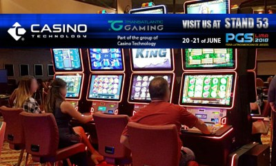 Casino Technology brings exciting content with EZ MODULO™ at Peru Gaming Show 2018