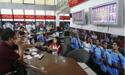 Continental China's Lottery Sales Jump 9% In April