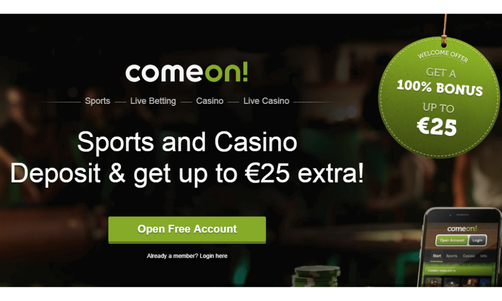 ComeOn launches Guest play on ComeOn.com in Sweden