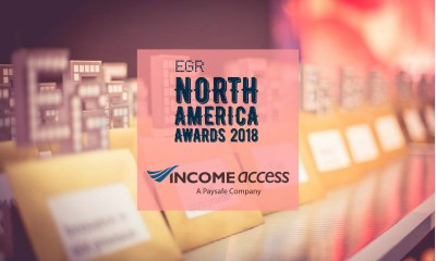 Income Access Wins 'Acquisition & Retention Partner' 2018 eGR North America Award