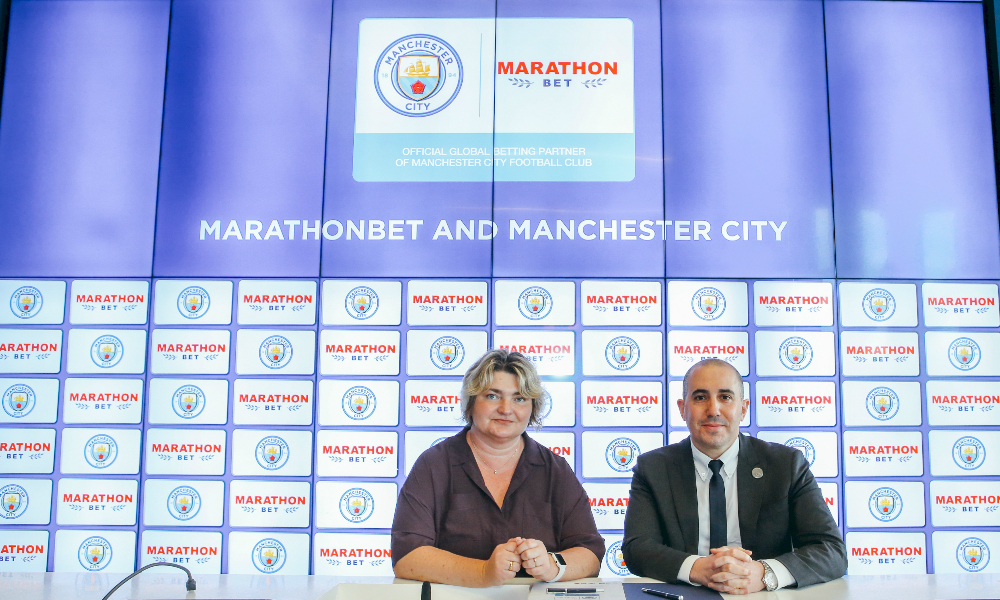Man City And Marathonbet Agree Global Partnership