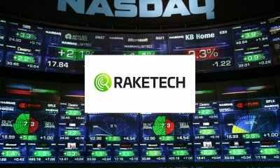 Nasdaq Stockholm Welcomes Raketech Group to First North Premier