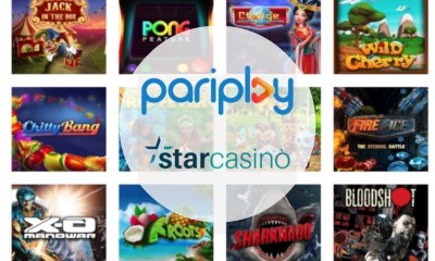 Pariplay Enters Italian iGaming Market with StarCasinò.it