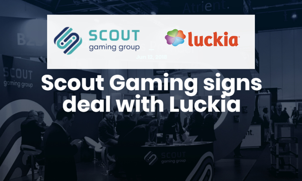 Scout Gaming signs deal with Luckia