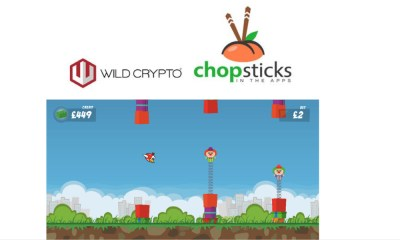 Wild Crypto first to launch Chopsticks in the Apps skill-based games