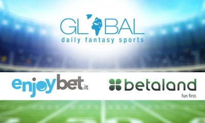 Global Daily Fantasy Sports Announces Betaland and Enjoybet to Join its Italian DFS Network