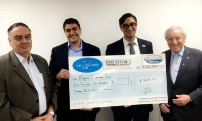 Park Avenue helps to raise over £5,000 for Bacta Charitable Trust