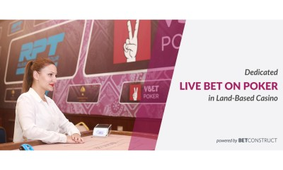 Dedicated Live Bet on Poker table in Land-Based Casino