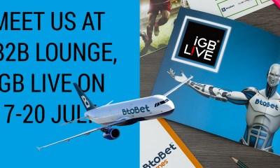 BtoBet all set for iGB Live!