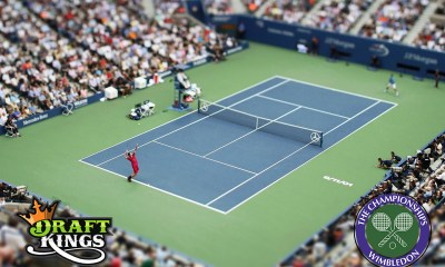 DraftKings launches Daily Fantasy Tennis with Wimbledon