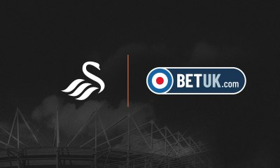 BET UK SPONSORS SWANSEA CITY AFC IN NEW SHIRT DEAL AND WILL BECOME PRINCIPLE BETTING PARTNER
