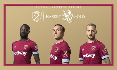 West Ham agree shirt sleeve deal and eSports partnership with Basset & Gold