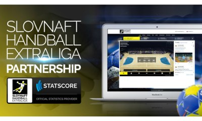 STATSCORE named the official statistics provider for the Slovnaft Handball Extraliga!