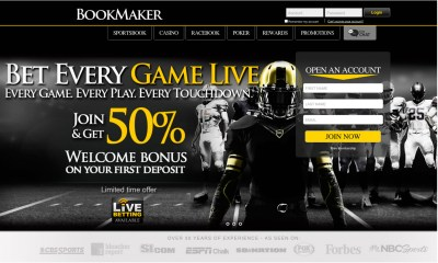 BookMaker.eu Announces Launch of First-Ever Live Betting Products As U.S. Enters Era of Legalized Sports Betting