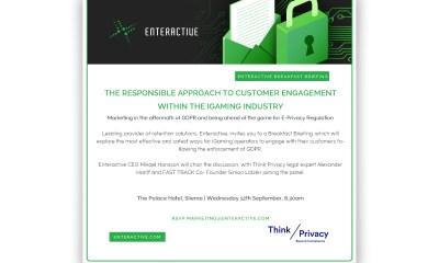 Enteractive Breakfast Briefing: The responsible approach to customer engagement within the iGaming industry